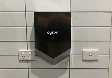 Hand Dryer Installation